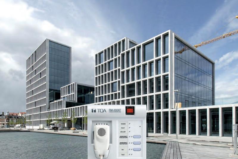 Sécurisé par TOA, le siège social Bestseller à Aarhus (Danemark) se compose de six bâtiments avec au total 21 500 m² accueillant 800 employés. ©TOA
