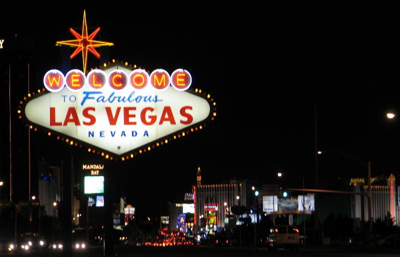 Les infrastructures de La Vegas sont cyberprotégées par du Machine Learning. CC David Vasquez