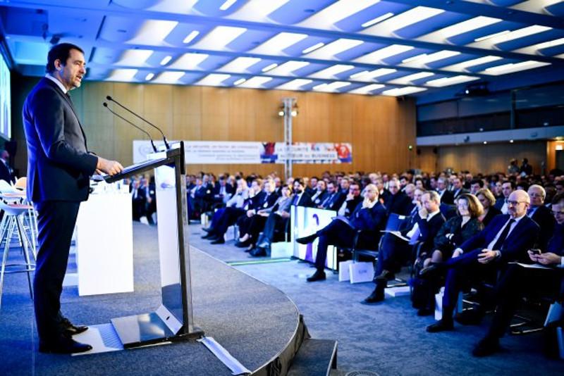 «L'État comme les entreprises que vous représentez font face, ensemble, aux mêmes menaces et aux mêmes enjeux», estime Christophe Castaner, ministre de l'Intérieur. © CDSE