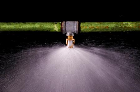 L'efficacité du sprinkler est de 98% ! © FM Global