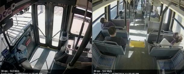 Les caméras de March Networks sont utilisées, entre autres, dans les bus urbains. © March Networks
