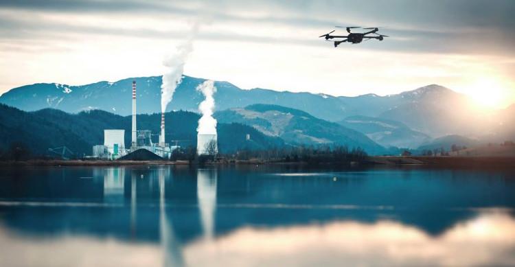 La plateforme d'Uavia pilote les drones à distance. ® Uavia