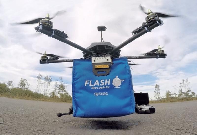 Le projet de logistique d'urgence médicale urbaine Drone for life n'a pas su convaincre. © Sysveo