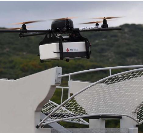 Avec Internest, les drones autonomes savent atterrir sur des bases fixes ou mobiles. D.R.
