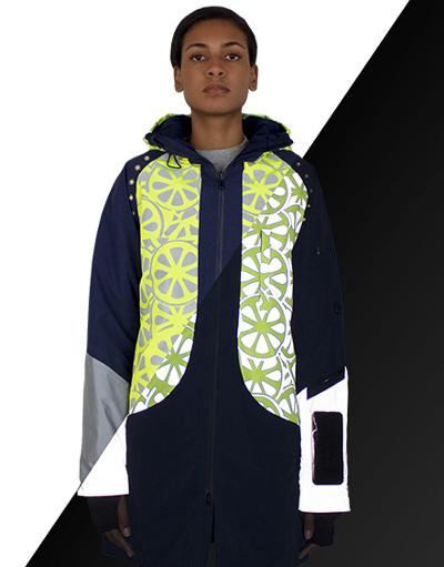 Alliant mode et haute visibilité, ces vestes sont réversibles. © Urban Circus