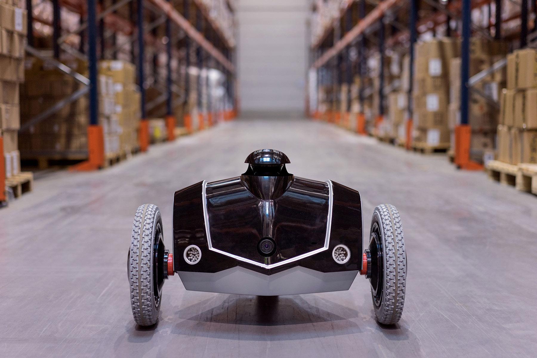 le drone roulant e-Vigilente d'EOS Innovation est le premier rondier robotique au monde. la prise de participation de Parrot (1 million d'euros en 2014) n'aura pas suffi à pérenniser le fabricant. © EOS Innovation