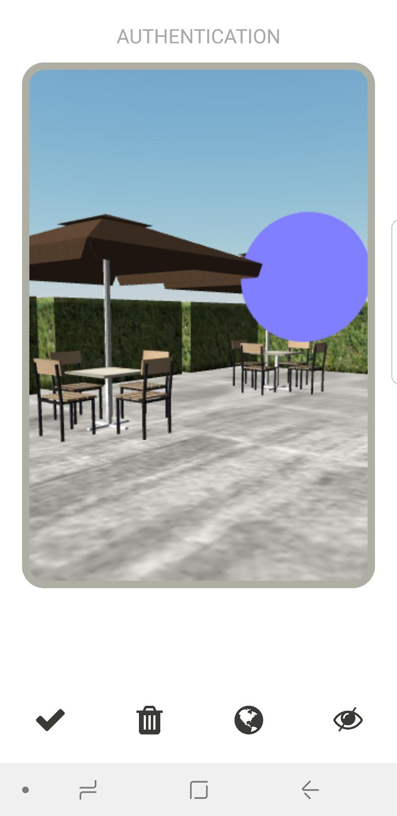 OneVisage propose une méthode d'authentification basée sur la construction d'un monde virtuel. © OneVisage