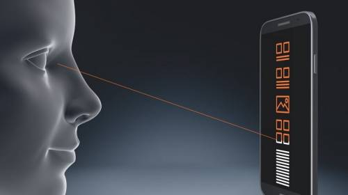 Les fabricants de smartphone sont de plus en plus nombreux à intégrer un capteur d'iris dans leurs téléphones. © Osram
