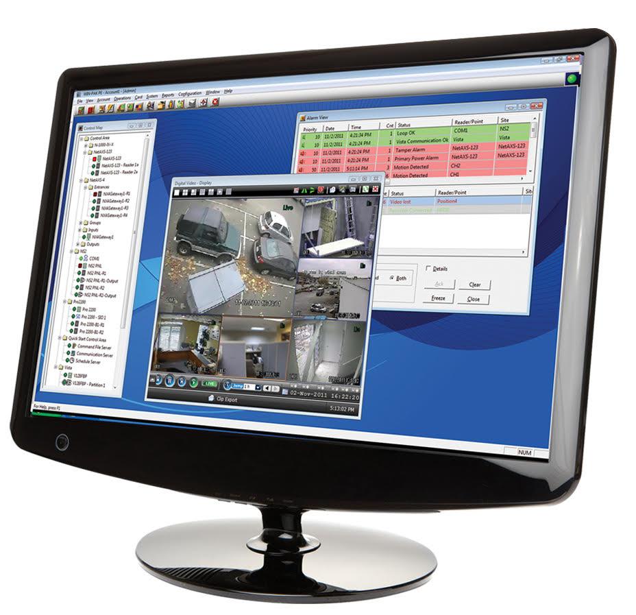 La solution de contrôle d'accès WinPack. © Honeywell Security