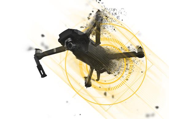CerbAir détruit les drones malveillants par brouillage. © D.R.