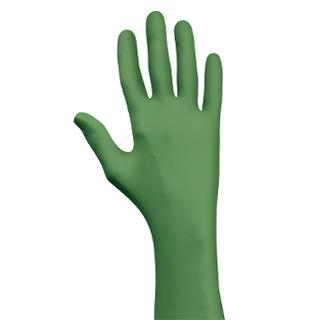 Le gant Green-Dex de Showa est le premier gant totalement biodégradable. Les problématiques éco-responsables concernent de plus en plus les clients. © Showa