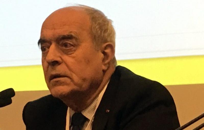 Alain Juillet, président du Club des directeurs de sécurité des entreprises (CDSE). CC LaMèreVeille