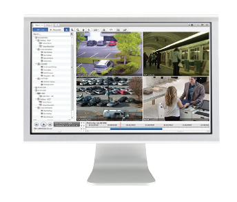 Le logiciel de supervision Control Center 5.2 d'Avigilon © Avigilon