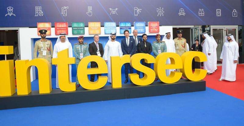18 entreprises françaises étaient présentes lors du salon professionnel Intersec 2019 à Dubaï. © Messe Frankfurt