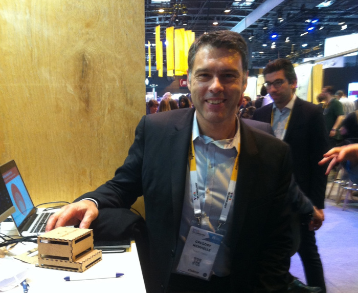 Grégory Minvielle CEO de Smartrans a déposé un brevet sur sa solution. © TCA-innov24