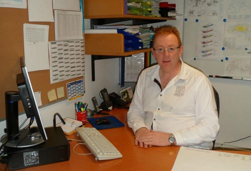 Patrice Knuchel, responsable du service sécurité incendie au Centre hospitalier Bretagne Atlantique et vice-président de l'Association des chargés de sécurité en établissements de soins (ACSES). D.R.