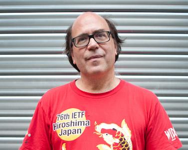 Stéphane Bortzmeyer, ingénieur R&D à l'Association française pour le nommage Internet en coopération (Afnic). CC Ophelia Noor