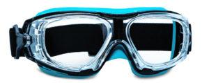 Cette lunette masque est adaptée à la vue du porteur