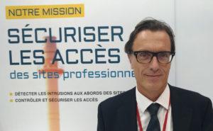 Eric Thord, PDG du groupe Vitaprotech lors du salon APS 2019.