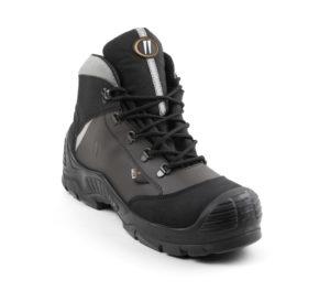 La chaussure de protection Unipro de Gaston Mille avec son plastron MilleMeta intégré.