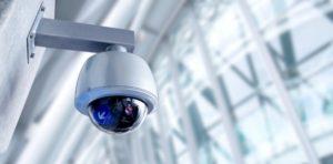 Caméra de vidéosurveillance extérieure Spie.