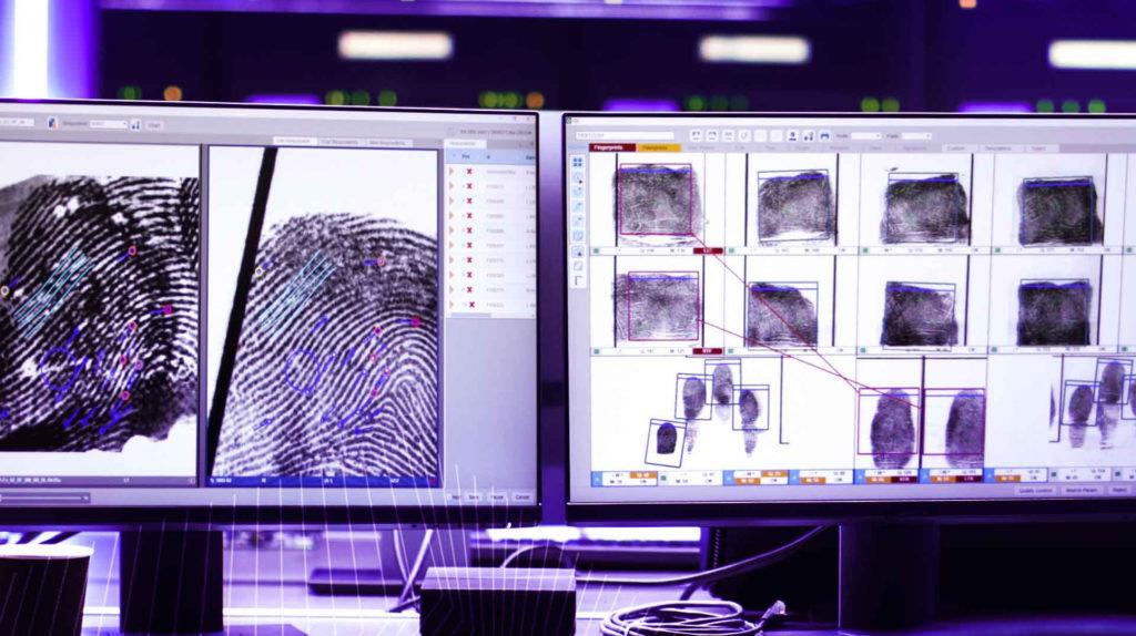 Le systèmee d'Idemia pour Interpol est capable d'effectuer un million de recherches multi-biométriques par jour. © Idemia